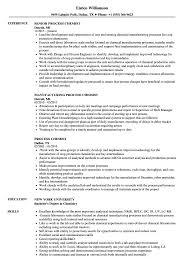 Process Chemist Resume Samples Velvet Jobs