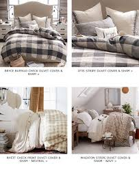 buffalo check duvet cover sham covers duvet inserts pottery barn don t miss out on these great items milled