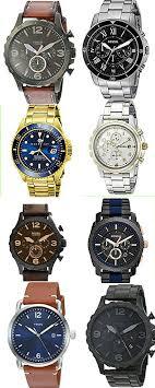 Mens Designer Watch Gift Set Fossil Designer Watches For Men Menstyle Watches Cool
