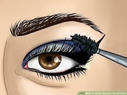 image led apply egyptian eye makeup step 16