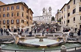Besonders schön ist es hier im frühling, wenn überall die azaleen blühen. Hotel An Der Spanischen Treppe In Rom