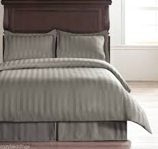 hotel collection light grey stripes 5pc