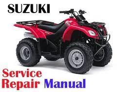 suzuki 2002 2009 suzuki lt f250 ozark service repair manual