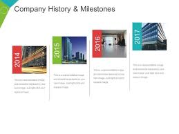 Company History And Milestones Template 3 Ppt Powerpoint ...