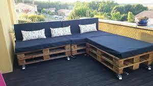 Furniture Accessories:L Shaped Diy Wheeled Pallet Sofa Otdoor Pallet  Furniture Design Ideas Creative DIY