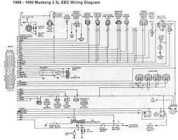 1988 1990 ford mustang 2 3l eec wiring diagram all about wiring 1988 1990 ford mustang 2 3l eec wiring diagram