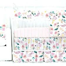 fl crib bedding set baby girl crib bedding set blush blossoms with pink and peach fl crib bedding set baby girl crib bedding sets