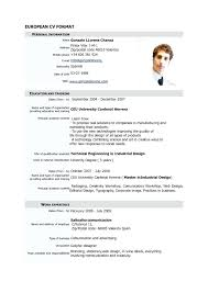 Demo Cv Format Resume Format Best Resumes Amazing Objective Current Samples 2016