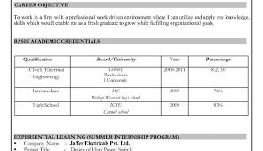 Academic Resume Template Word Entry Level Analyst Resume