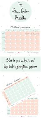 fitness timetable template how to actually achieve your fitness goals workout planner