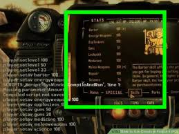 how to use cheats in fallout 4 pc 11 steps with pictures