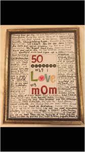 90th birthday gifts awesome 50 reasons why i love my mom made it for her