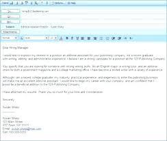 Sending Resume Email Samples New Email Sample Sending Resume And Send Resume By Email Email