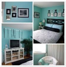 simple teen bedroom ideas. DIY Projects, Blue Wall Paint Black Headboard Wooden Flooring Teenage Bedroom Ideas Simple Tritmonk Home Teen