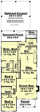 Small 2 Bedroom Cabin Plans Small Cottage Style House Plan 3 Beds 2 Baths 1300 Sq Ft Plan