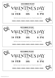 free ticket design template free valentines day ticket template postermywall