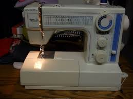 Jeans Machine White Sewing Machine