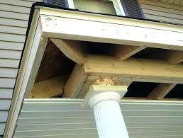 build a porch roof how to front arched gable framing details the for screen gable porch roof framing
