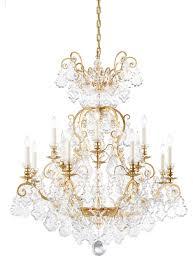 schonbek lighting 2772 26 versailles french gold chandelier