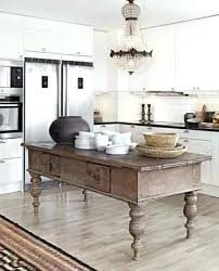 french country kitchen island. Interesting French Modern White Kitchen With Antique Rustic Wood Island French Country  Island Inspirations Vintage Farmhouse For French Country Kitchen Island N