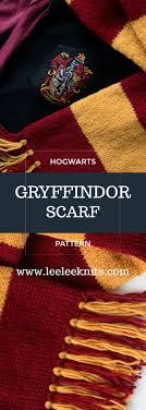 Harry Potter Scarf Knitting Pattern Simple Inspiration Design