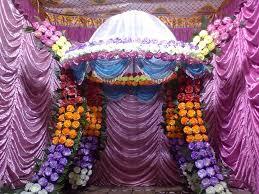 pooja room decoration for ganpati indian festivals ganpati