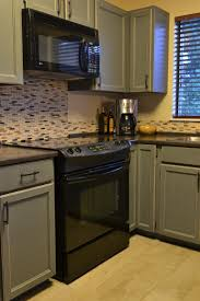 Cabinets Drawer Awesome Small Kitchen With Taupe Distressed