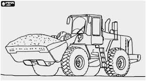 Bulldozer Coloring Pages Luxury Bulldozer Monster Truck Kleurplaat