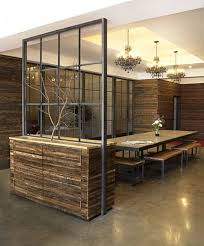 rustic modern office. dining room entry office interior design by specht harpman rustic modern s