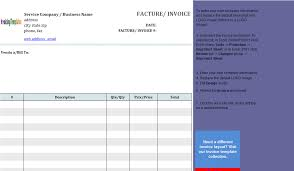 Invoice Template Excel 2003 Microsoft Excel Invoice Template Shatterlion Info