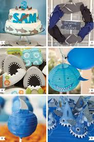 shark party ideas abug shark
