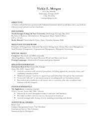 Work Resumes Examples – Hflser