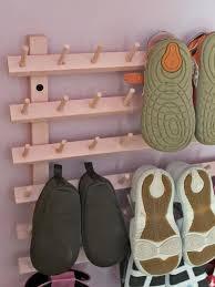 Children's Coat And Shoe Rack