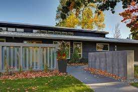 mid century modern front porch. Front Midcentury Modern Addition Minneapolis By MA With Concept Mid Century Porch