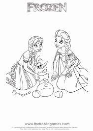 Kleurplaat Frozen Elsa Uniek Disney Frozen Coloring Pages Awesome