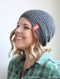 Slouch Hat Crochet Pattern Enchanting Simple Slouchy Crochet Hat Pattern For Beginners