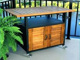 outdoor grill prep table modern gorgeous regarding 6
