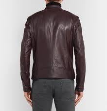 belstaffv racer slim fit leather jacket