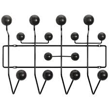 Vitra Coat Rack Vitra Hang it all coat rack black Finnish Design Shop 32