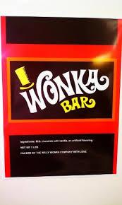 wonka chocolate bar wrapper. Brilliant Chocolate Worldu0027s Largest Willy Wonka Bar Wrapper Poster U0026 Two 10x6 Golden Tickets On Chocolate R