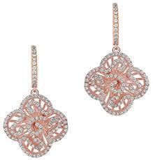 Fei Liu <b>Womens</b> Cascade <b>Mini Drop</b> Earrings - Rose Gold: Amazon ...