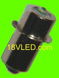 dewalt flashlight 18v. 14.4 volt cree flashlight bulb fits dewalt, makita, rigid, hitachi,bosch,ryobi dewalt flashlight 18v