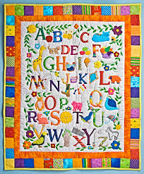 fabricbooksandtoys.com - Learn and play & Double Click to. ZOOM. Abc Quilt Wallhanging Adamdwight.com