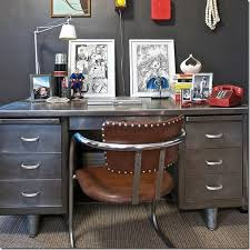 vintage industrial metal office chair metal. refinished metal desk found the perfect to refurbish like this vintage industrial office chair l