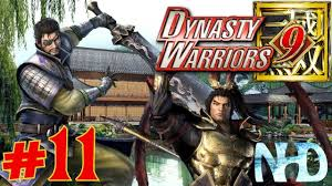 Let's Play Dynasty Warriors 9 (pt11) Xiahou Dun - Lu Bu pushed back to  protect the Emperor - YouTube