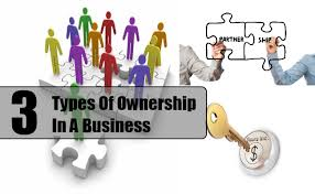 types of business ownerships types of ownership in a business different kinds of ownership in a