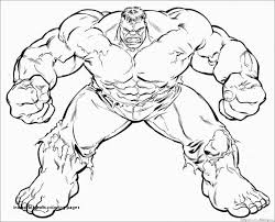 Hulk Coloring Pages Unique Incredible Hulk Coloring Pages Printable