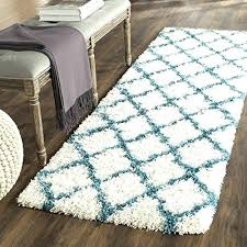 rug runners 2 x 5 kids collection ivory and blue area feet 3 inches by 2 by 3 rug x 5 braided