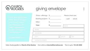 Church Offering Envelopes Templates Free Church Envelope Template Nenne Co