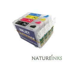 4 refillable refill ink cartridge for T29 T29XL <b>T2991 T2992 T2993</b> ...